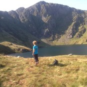 21st September - Aline hiked up Cadair Idris as training for the 24 mile hike