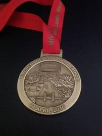 Last years medal