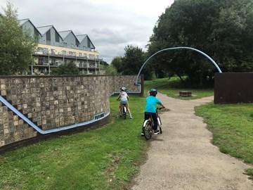 Start Line - Millennium Wall Chippenham