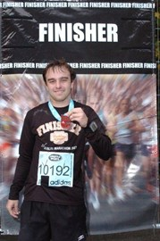 Finished the Dublin Marathon 2009