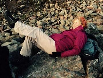 Injured on the mountain