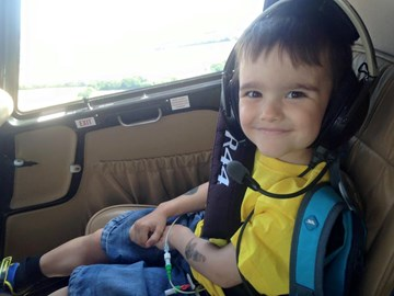 Me in a helicopter