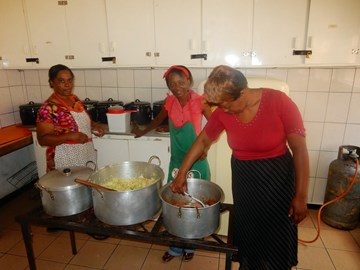 The Soup Kitchen at Bulawayo Baptist Church