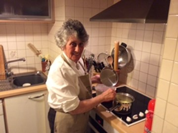 Eleanor - one of our lovely shelter chefs always finding interesting recipes