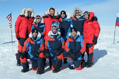 South Pole reached