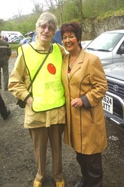 Me and Ruth Madoc