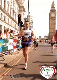 My last marathon - London 2007
