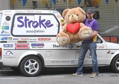 Sheffield to Brussels drive Teddy Raffle