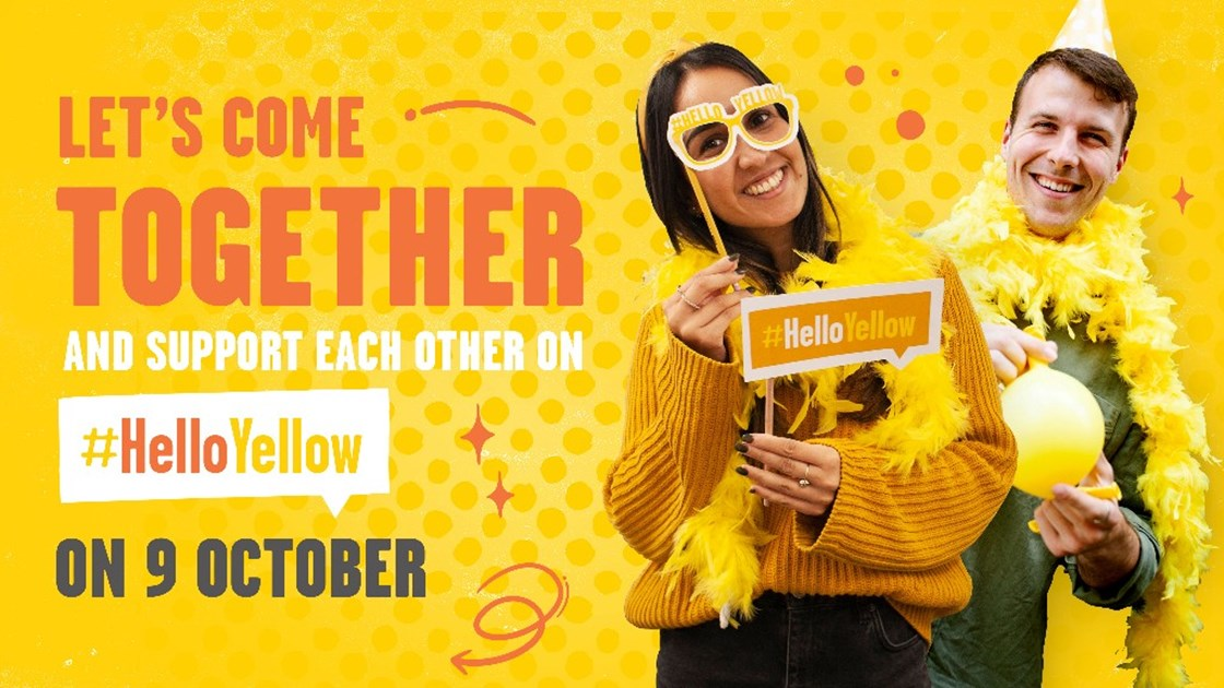 HelloYellow 2020 - JustGiving
