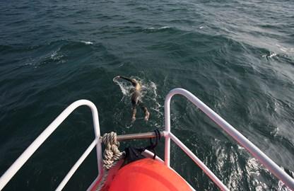 A big swim