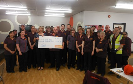 The Olive Tree with supporters Sainsbury's