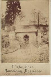 The Mausoleum in 1919 (© Dorking Museum)