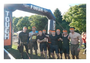 Team Size completes Tough Mudder Yorkshire 2013