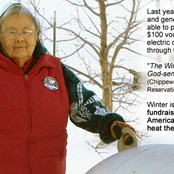 Start your fundraiser today and help provide Winter Warmth for Native American Elders