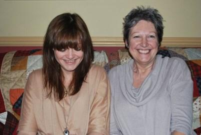 Myself and my mum