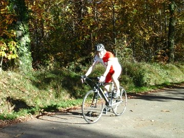 Last autumn training ride