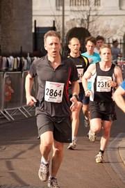 proof that I did the half marathon!