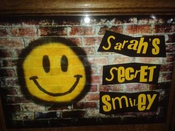 Sarah's Secret Smiley poster