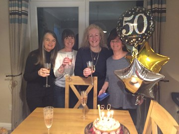 Early Celebrations courtesy of my 'Little Friends' ;) thank you Ladies