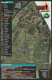Tough Mudder South West Course Map