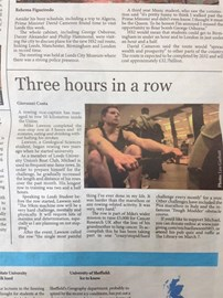 Feature in Student Newspaper