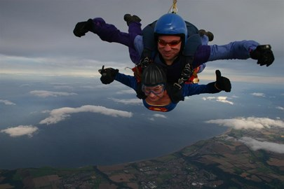 Skydive from 10,000ft excellent cause!!!