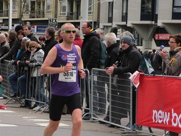 Marty finishing strong in Rotterdam