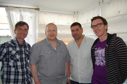 John Massen with the weneedyounow crew