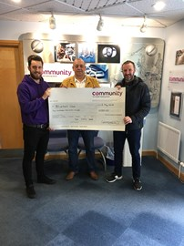 Dave Wing - Company Donation - direct to BW