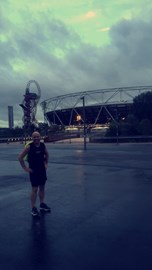 A wet run to Stratford