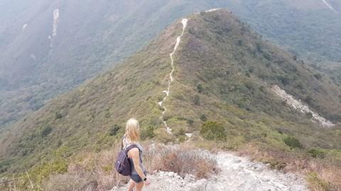Sai Kung! 15 mile hike!