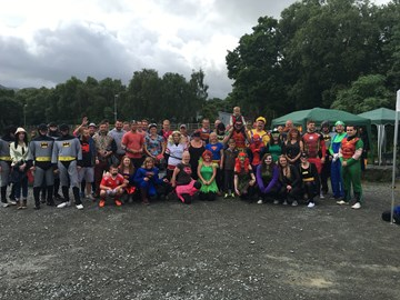 2016 Dragon Boat Race participants