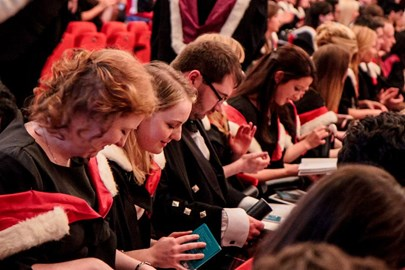 Medical graduates, University of Dundee 2015, by permission of University of Dundee