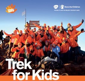 Trek for kids to Mount Kenya 2017