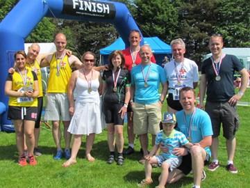 Findel's RNLI Triathlon Teams