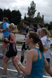 Running for Alzheimer's Society in 2010