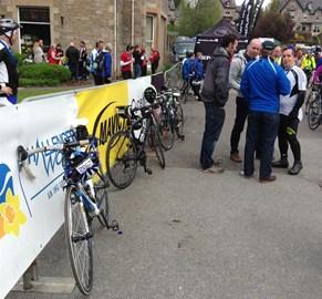 bike resting after 150miles