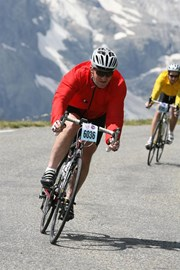 Descending from Galibier