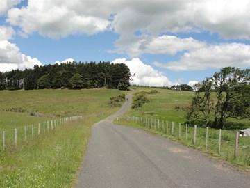Conquering Northumbrian hills!
