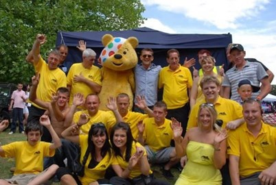 Pudsey, Scott Maslen and the PSR Team