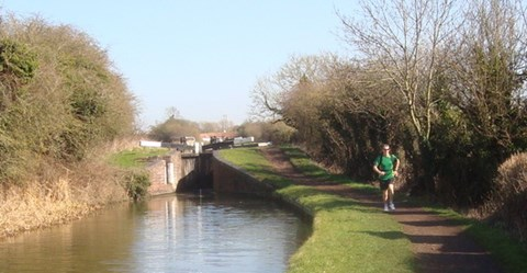 Training on the Brum and Worcester canal