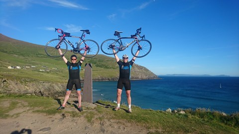 Bikes in the air - We Did It!
