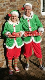 Elves ready to go to Oz with presents