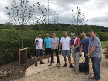 Several Members of the team at a recent Help4Heroes Charity Event
