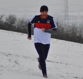 Snow excuse to not run!