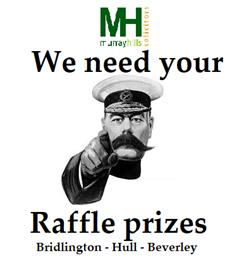 We need your raffle prizes