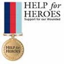 Help For Heroes - Modern Vespa