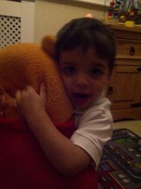 My godson Aaron