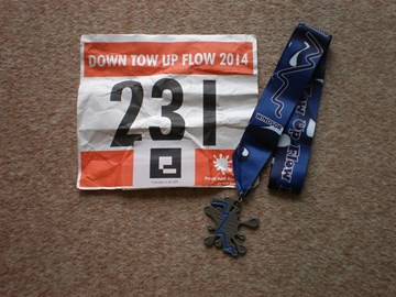 Up Flow Down Tow Windsor to Marlow Half Marathon - July 2014
