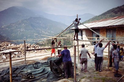 IDV's work in the Nepalese mountains